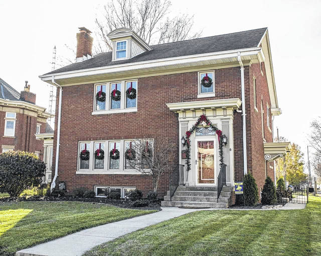 The Jacobs house will be open to tour during the St. Marys Chamber of Commerce's tour of homes Tuesday night.