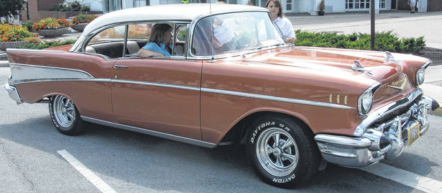 No. 2: 1957 Chevy Bel Air. Joe Lombardo, of Lima, has owned this beauty for 25 years. He and his wife enjoy taking it out on special occasions, especially when the sun is shining.