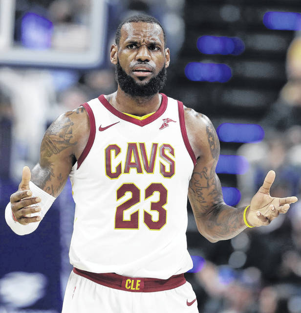 LeBron James and the Cleveland Cavaliers have lost nine of their last 12 games.