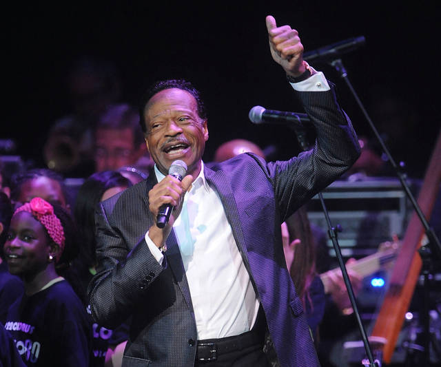 """FILE - In this June 10, 2014 file photo, Edwin Hawkins appears at the Apollo Theater Spring Gala and 80th Anniversary Celebration in New York. Hawkins, the gospel star best known for the crossover hit """"Oh Happy Day,"""" died Monday, Jan. 15, 2018, at his home in Pleasanton, Calif., at age 74. He had been suffering from pancreatic cancer. (Photo by Brad Barket/Invision/AP, File)"""
