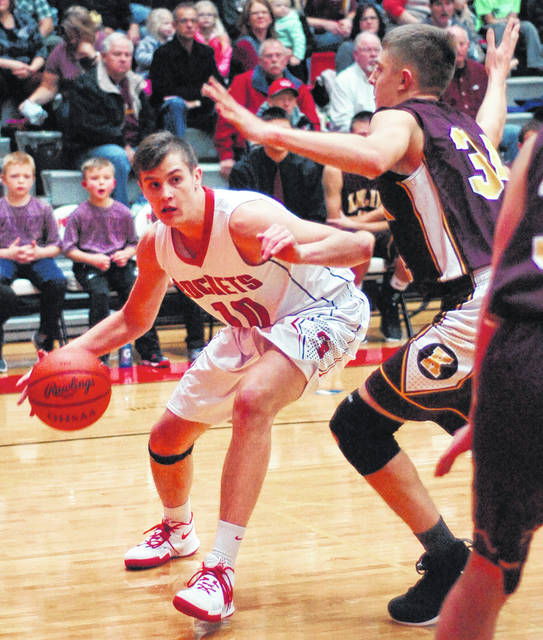 Pandora-Gilboa's Drew Johnson has been the Rockets mainstay this season.