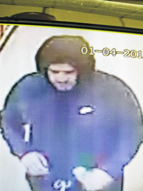 Ada Police are looking to identify this suspect from a robbery.