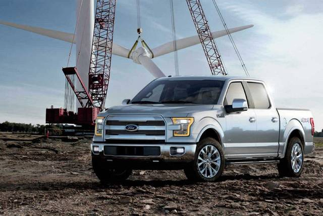 2017 Ford F-150 Limited. (Ford)