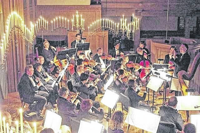 The Lima Symphony Orchestra's Baroque by Candlelight concerts are this weekend.