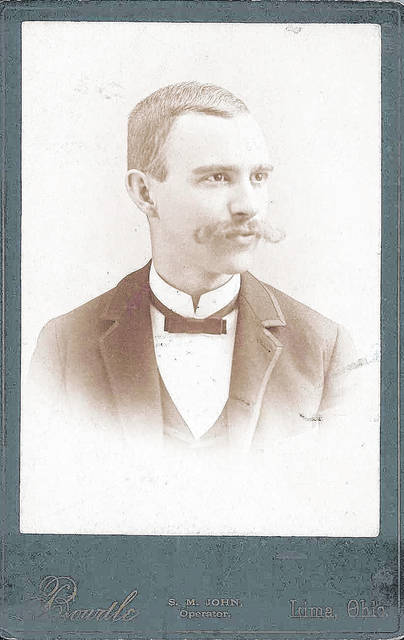 Harry C. Hiner, photographed in about 1880-'90.
