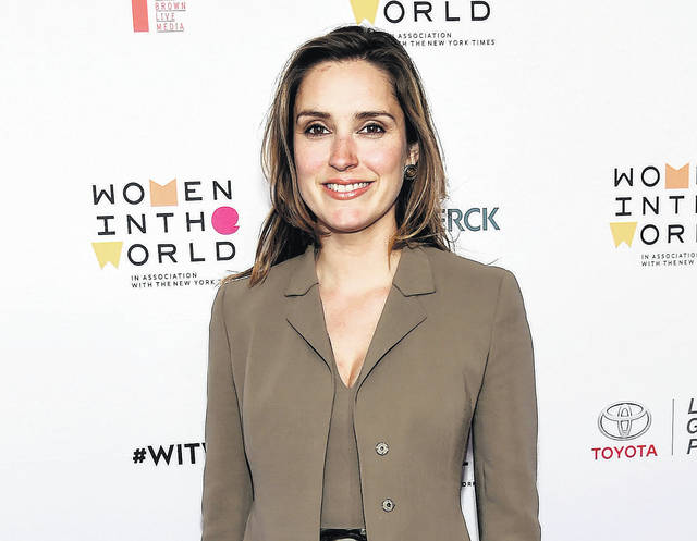 "In this April 6, 2016 file photo, CBS News correspondent Margaret Brennan arrives at the 7th annual Women in the World Summit opening night in New York. CBS News selected Brennan as moderator of the Sunday morning political talk show ""Face the Nation,"" replacing John Dickerson."