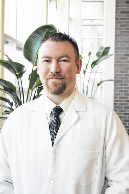 Dr. Jeremy Heffner, a native of Lima, works as a physician with Lima Memorial Health System.