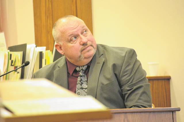 Former Lima Police Digital Forensic Examiner Terry Sneary testified during day two of the Jayleontre Harris murder trial Wednesday. Sneary extracted Facebook and text messages from Harris' and Carlos Maldonado's cellphones during the investigation of the shooting death of Eric Staup on May 19, 2016.