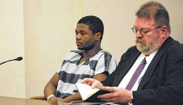 J Swygart | The Lima News  A jury trial is scheduled for Feb. 20 for 19-year-old Jayleontre Harris of Lima, charged with aggravated murder in the 2016 shooting death of Eric Staup at Staup's Metcalf Street home.
