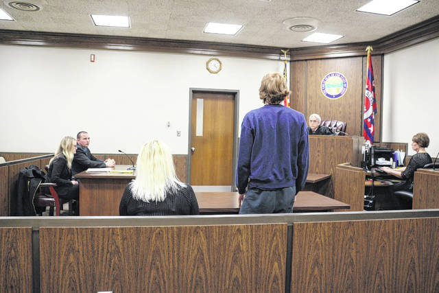 A boy apologizes in Allen County Juvenile Court for his actions on social media which threatened Allen East schools. He's been placed on house arrest and his case moved to Butler County.
