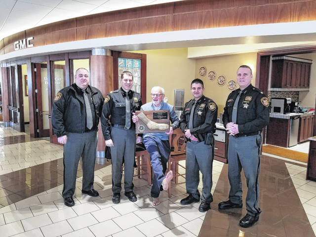 Tom Ahl Lima Ohio >> Tom Ahl Gets Bronzed Sock And More From Sheriff The Lima