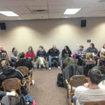 Bluffton Education Organization meets with Bluffton students