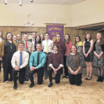 Lima Noon Optimist Club recognized area youth