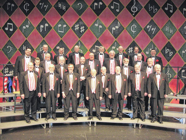 The Lima Beane Chorus will give two shows Saturday.