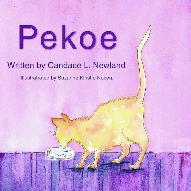 "Lima resident Candace Newland published her book, ""Pekoe."" The book is illustrated by Lima artist Sue Nocera. Submited"