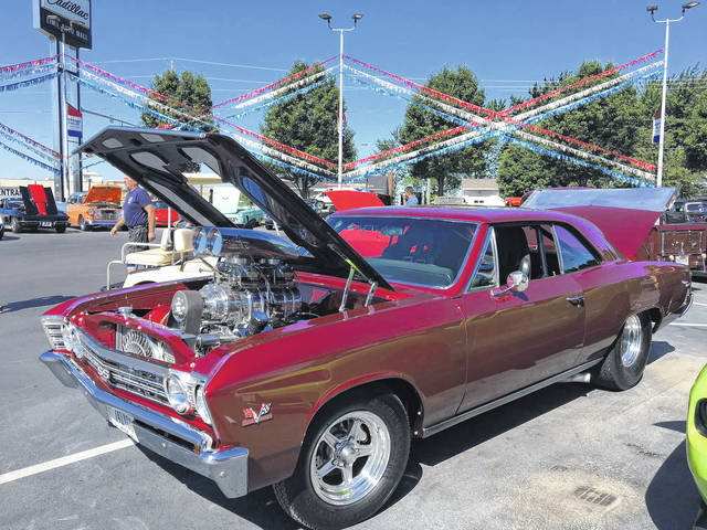 Lou Varrato, of Lima, owns this 1967 Chevy Chevelle SS