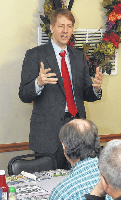 "Democratic candidate for governor Rich Cordray says he gets ""agitated sometimes thinking about how our state does economic development."" Craig J. Orosz 