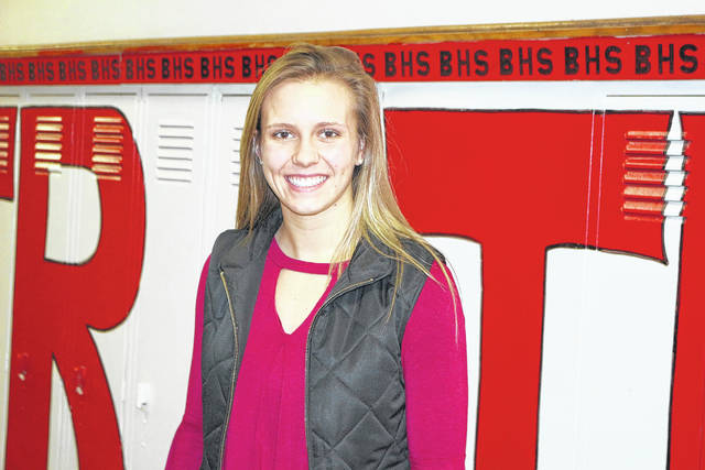 Katie Prater is hoping to become a nurse someday.