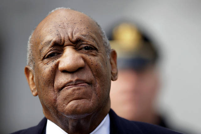Bill Cosby arrives for his sexual assault trial April 18 at the Montgomery County Courthouse in Norristown, Pa. The jury in Cosby's conviction said it didn't feel race or the #metoo movement affected its decision.