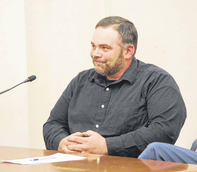 J Swygart | The Lima News  Matthew Burton, former  head of maintenance for Elida Local School District, on Monday waived his right to a speedy trial for allegedly stealing more than $100,000 from the school district.