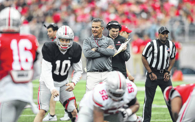 Ohio State Quarterback Battle Not Over Yet The Lima News