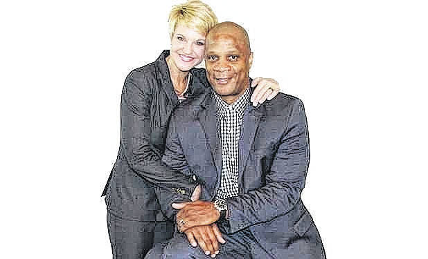 Tracey and Darryl Strawberry. Submitted