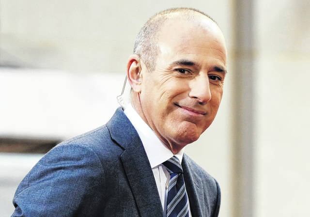 "Matt Lauer, co-host of the NBC ""Today"" television program, appears on set April 21, 2016, in Rockefeller Plaza, in New York. NBC has concluded in an internal investigation ordered after Lauer's firing that it does not believe there is a culture of sexual harassment in its news division."