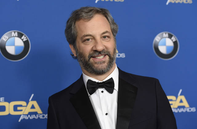 Judd Apatow arrives at the 70th annual Directors Guild of America Awards in Beverly Hills, Calif., in February. A collection of 4,000 hours of video interviews recorded over more than two decades by the Television Academy Foundation will be available for free on a website. Apatow made use of footage from a Garry Shandling interview for a documentary released this year about the late comedian. The clips were licensed from the foundation, one of the ways it generates money to preserve and expand the archive's collection.