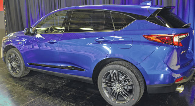 The new 2019 Acura RDX was showcased at the East Liberty Honda Auto Plant, Tuesday.