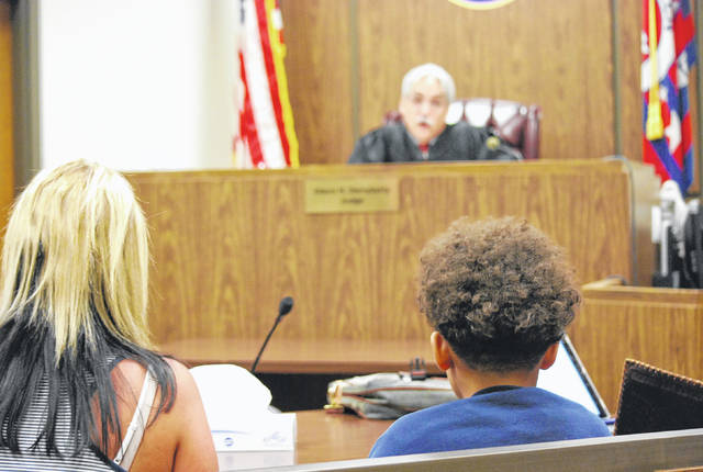 A 13-year-old boy charged with juvenile delinquency by inducing panic, a second-degree felony, for posting a social media threat against Bath Middle School on Wednesday appeared in Allen County Juvenile Court Thursday for an initial hearing. The youth was ordered by Judge Glenn Derryberry to remain at the Allen County Juvenile Detention Center until his next court appearance on June 4.