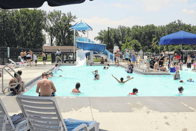 The Memorial Day holiday weekend was the first weekend for the new swimming pool at Grand Lake St. Marys Campgrounds.