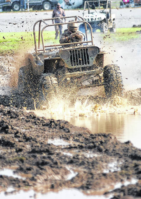 Harold Lewis competes during a past year's 4 Wheel Jamboree at the Allen County Fairgrounds in Lima.