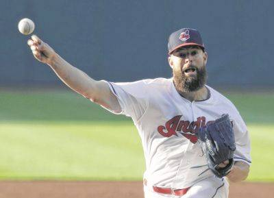 The Indians' Corey Kluber allowed one run and seven hits while striking out seven in seven innings of work Tuesday night against Milwaukee in Cleveland.