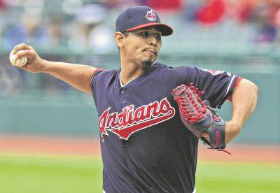 The Indians' Carlos Carrasco allowed one run in a seven-inning outing Wednesday against Milwaukee in Cleveland.
