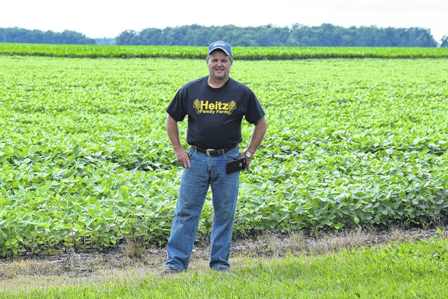 Long-time Auglaize County farmer Nick Heitz is concerned over crop prices as China is set to enact 25-percent tariffs on U.S. crops exported to China.
