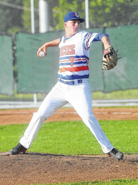 Pitcher Brad Croy is one of two returning players for the Lima Locos.