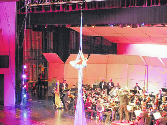 The opening concert is Cirque De La Symphonie, combining visual stimulation with the music of the symphony.