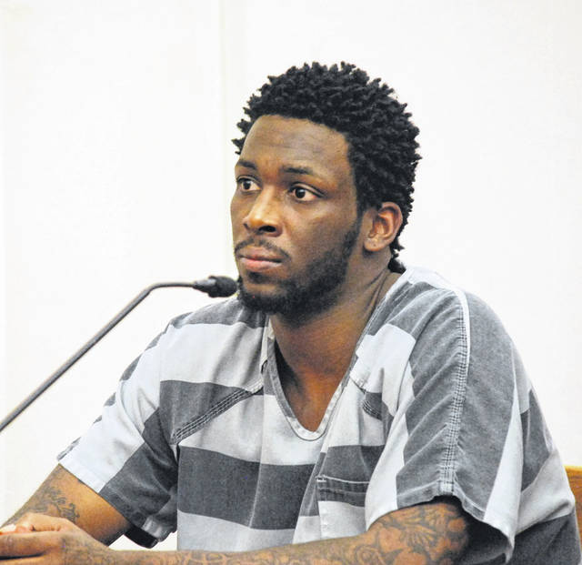 DeArin Thomas of Lima was sentenced to 14 years in prison Monday in Allen County Common Pleas Court for the 2017 shooting death of Davohn Godsey at the Gas Station Bar.