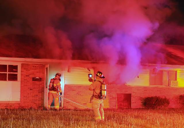 The Lima Fire Department responded to a house fire at 1139 Catalpa Ave. around 2:15 a.m. Tuesday morning. The fire is under investigation.
