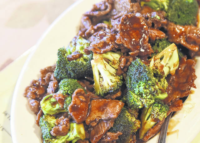 Hunan Garden is known for its stir fry and crab rangoon.