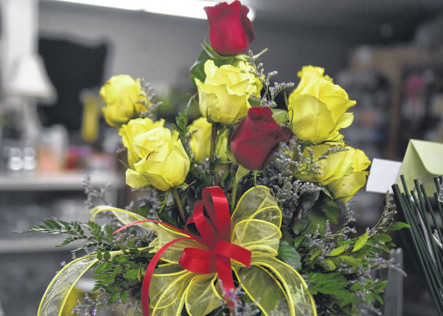 Town & Country Flowers was voted best florist in the area.