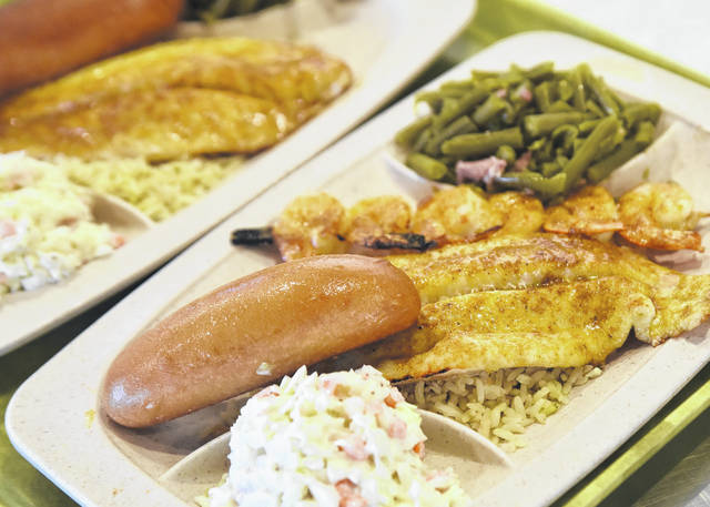 Deep-fried fish always sounds good, but the broiled offerings at Captain D's are tasty, too.