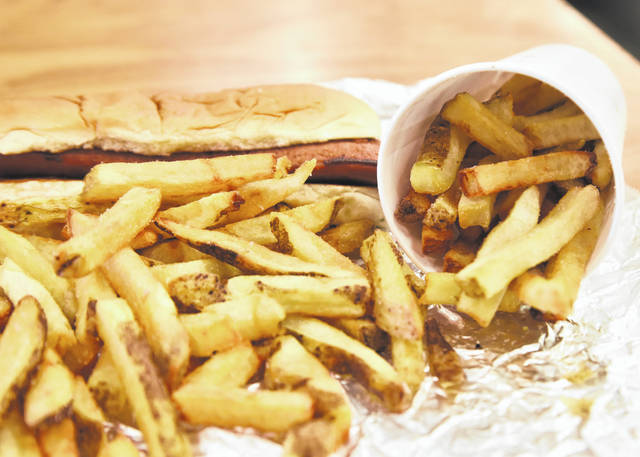 One serving of french fries at Five Guys Burgers and Fries is generous, to say the least.