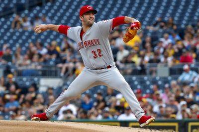 Cincinnati Reds pitcher Matt Harvey could find himself headed to another team after going 5-3 with a 3.64 ERA in 12 starts. (AP Photo)