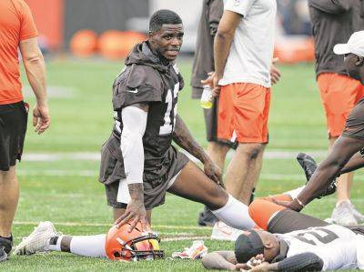 Josh Gordon is missing the start of the Cleveland Browns' training camp in Berea as part of his treatment to battle drug and alcohol addictions.