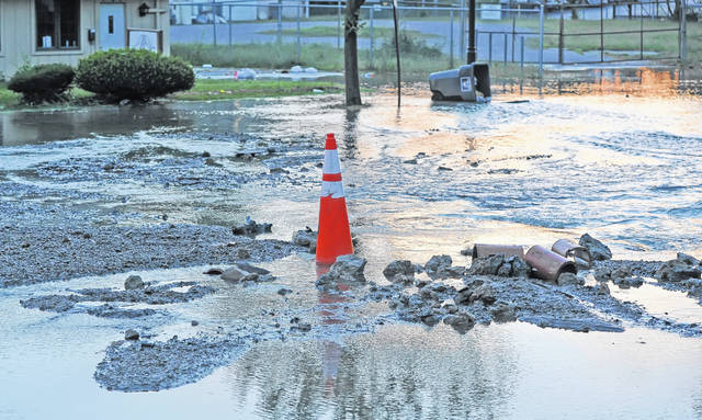 The Kibby Street flooding will disrupt traffic as it's being repaired. The city has scheduled an asset management plan to be done near the end of the year.