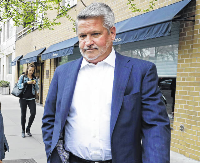 "Former Fox News co-president Bill Shine, leaves a New York restaurant. For years Shine carried out Roger Ailes' orders, earning himself the nicknamed ""the Butler"" at Fox. Now, Shine is serving the same role under President Donald Trump. Shine has yet to select a permanent office or unpack his stuff. But he has been putting his mark on the West Wing (AP Photo/Mark Lennihan, File)"