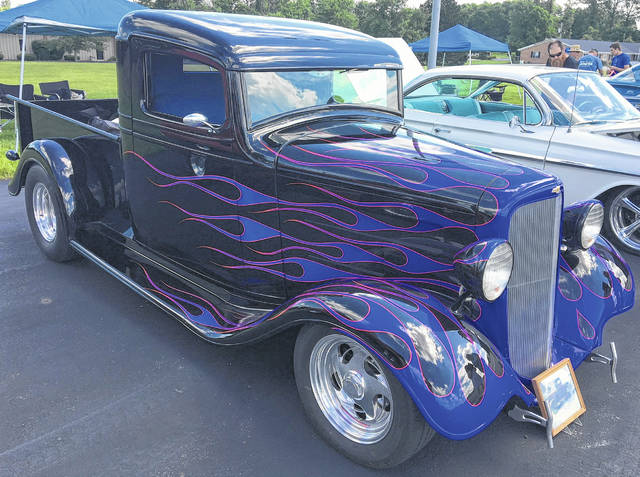 Ron Wheeler, of Defiance, took four years to restore his 1934 Chevy Pickup.