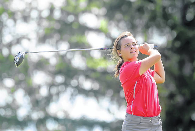 Lima Central Catholic's Mary Kelly Mulcahy earned all-state honors as a freshman last year with a fifth-place individual finish in the Division II finals.