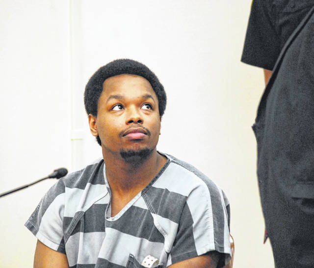 Darius Relford, 22, of Lima, received a five-year prison sentence Thursday for his role in a drive-by shooting in Lima earlier this year.